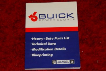 Factory Buick Turbocharged V6 Books