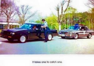 buick regal cop car