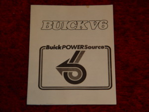 buick v6 power source book