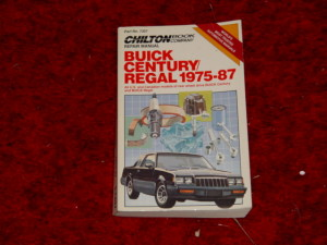 chilton buick regal 1975-87