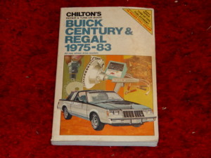 chiltons buick regal repair guide