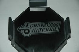 drink coasters with etched gn logo