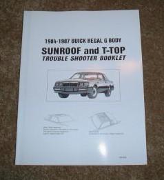 fix buick t-tops book