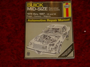 haynes buick mid size how to fix