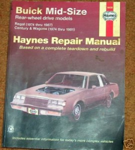 haynes buick repair manual