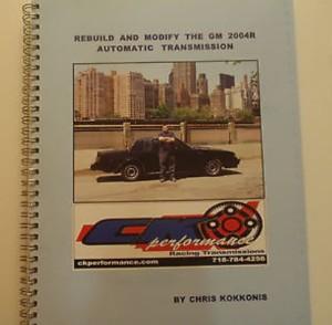 rebuild the 200-4R Transmission book