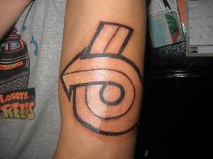 turbo 6 arm tattoo