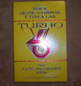 turbo buick facts and figures book