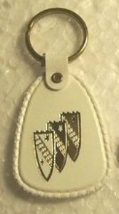 BMD trishield logo keyring