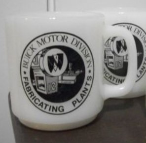 BUICK MOTOR DIVISION FABRICATING PLANTS COFFEE MUG