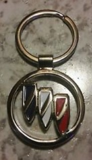 buick emblem key chain