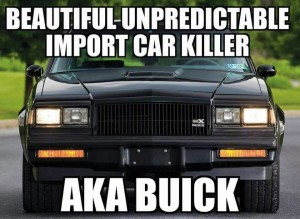 buick import car killer