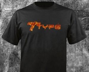 flaming buick t type shirt