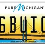 mi 86 buick plate