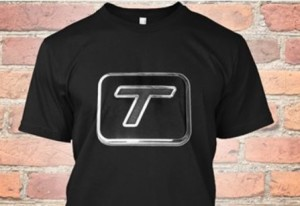 turbo t logo shirt