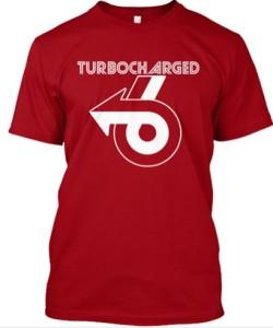 turbocharged 6 arrow shirt
