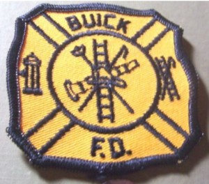 BUICK FIRE DEPARTMENT PATCH