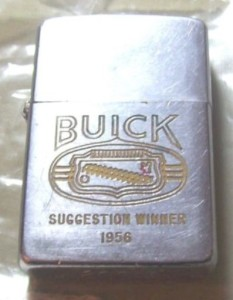 Buick Suggestion Winner 1956 Zippo Lighter