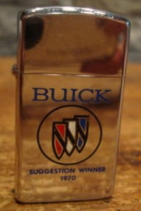 Buick Suggestion Winner 1970 Zippo Advertising Lighter