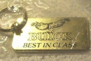 Key Chains With Buick Logos on Them