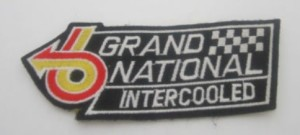 buick grand national emblem patch