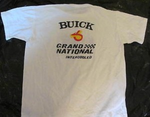 buick grand national intercooled shirt