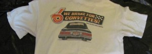 buick gsca we brake for corvettes shirt