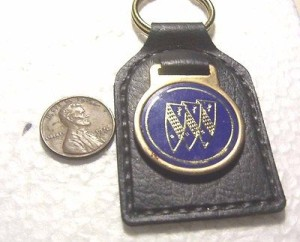 buick leather key fob