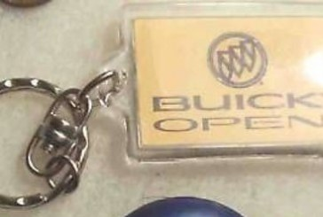 Buick Corporate Key Chains From Sponsored Events