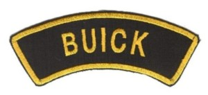 buick patch from germany