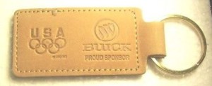 buick proud sponsor olympics keychain