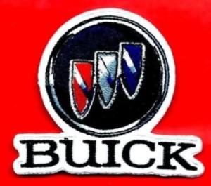 buick triple shield logo patch