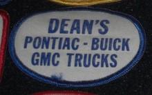 deans buick dealer patch