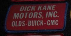 dick kane motors buick patch