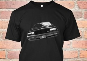 buick gn car front tshirt