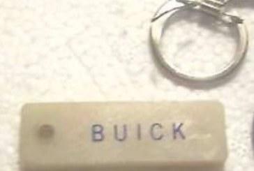 Buick Name Key Rings