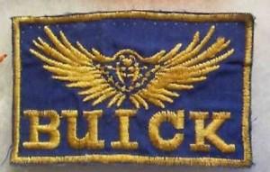 vintage buick hawk patch