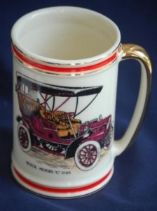 1905 BUICK MODEL C BEER STEIN