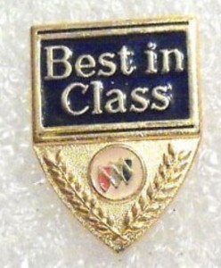 BUICK BEST IN CLASS TIE TACK PIN