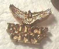 BUICK CITY HAWK PIN