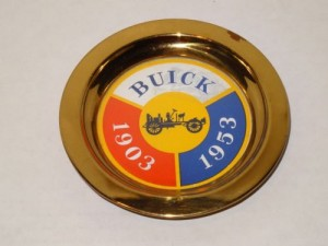 Buick 1903-1953 50 YEAR Commemorative trinket tray