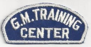 GM Training Center Uniform Patch