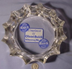 Olson Buick Dealership Ashtray