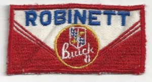 Robinett Buick Uniform Patch