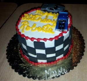 buick cars birthday cake