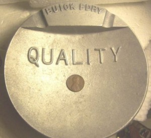 buick foundry ashtray