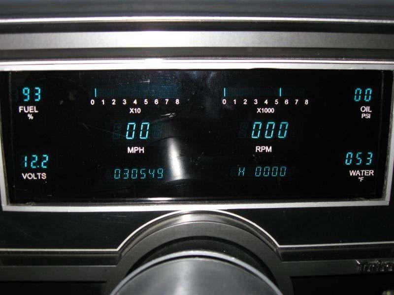 Buick Regal Digital Dash
