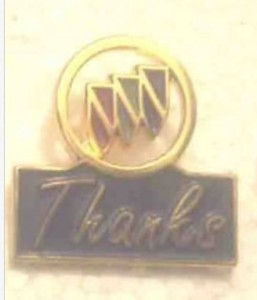 buick thanks pin