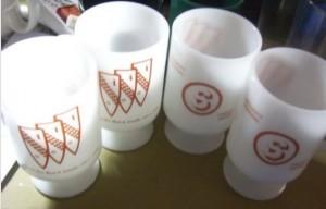 buick tri shield mugs credit union giveaway