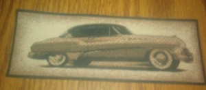 iron on patch 1950 Buick Roadmaster